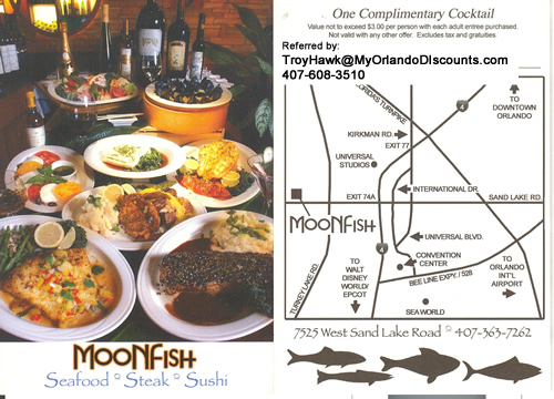 Coupon For Moon Fish in Orlando